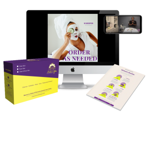 virtual facial kits for acne and acne scar and ingrown hairs in tampa florida black esthetician brown spots specialist, how to treat acne scar on black skin, skin care routine, self care, introverts