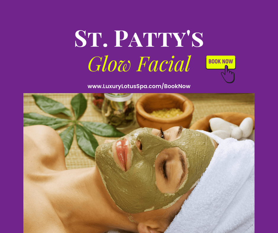 Sta patricks day facial of the month in tampa florida st patty's clear and even skin products for black women